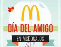 Promoción Día del Amigo en McDonald's