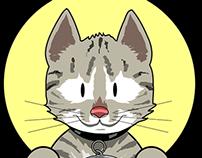 Cartoon kitty