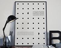 Afiches tipográficos / Canciones