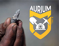 Aurium Minera - Logo