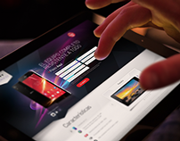 Landing Page for SONY Xperia Z2