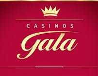 Gráfica Casinos Gala