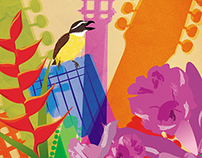 Afiche que concursó para el Festival Mono Núñez