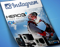 Hero3 Black Edition GoPro for Instagram