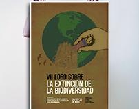 Posters Foro: Extinción de la Biodiversidad