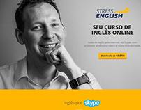 Stress English Landing Page