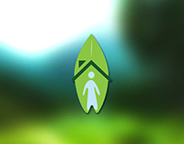 Logo e filipeta - Projeto social