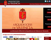 Web Consulting and Charity - Archdiocese of Valencia