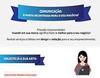 Newsletter - Apresentação dos serviços.