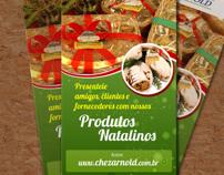 Flyer ChezArnold - Produtos Natalinos
