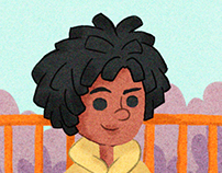 Street - Ilustration For Children