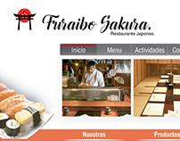 Web Page Japanese Restaurant
