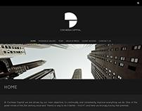 Pagina web para empresa de Hedge Fund