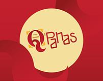 Q'Panas | Diseño de identidad de restaurante | Branding