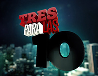 TRES PARA LAS 10 On Air Program Package