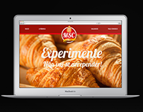 MSC Salgados - Interface WebSite