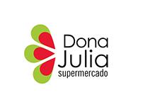 Projeto acadêmico: logo supermercado Dona Julia