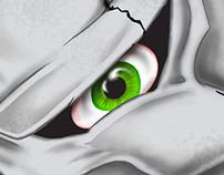 Digital Illustration Calavera