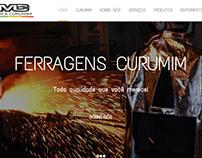 Website informativo para fábrica de ferragens