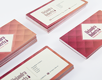 Alejandra Robert Makeup Artist - Business Card