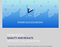 Diseño de web institucional