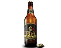 Rótulo cerveja artesanal medieval