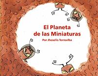 Libro Álbum - El Planeta de las Miniaturas.