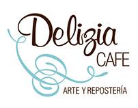 Identidad Delizia Cafe