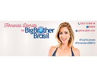 Peças Gráficas - Participantes Big Brother Brasil 16