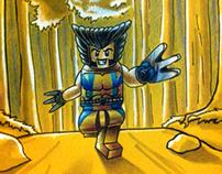 Lego Sketch Wolverine