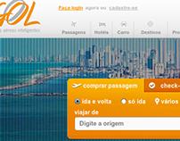 Web Site Ecommerce Gol Linhas Aéreas Inteligentes