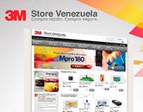 Web Site 3MStore.com.ve