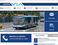 Metrovia GYE Website - Sistema Denuncias