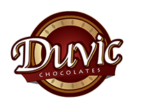 Logotipo Duvic Chocolates