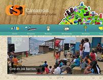 Cimarrón Somos webdesign
