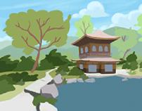 Cenários animação