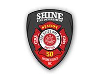 Shine Fire Dept. Logo -2015- USA