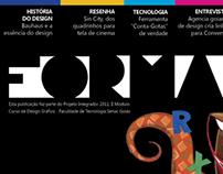 Revista Forma  para Designers