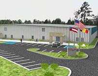 Warehouse Render for Preciball USA