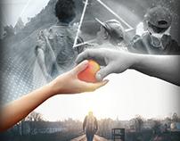 Cartaz de um filme desenvolvido na faculdade.