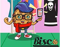 Design Gráfico da marca BiscO