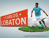 Poster and Wallpaper Fútbol / Carlos Lobatón
