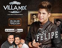 Artes / Flyers Villa Mix Goiânia