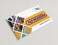 Brochure - Rediseño de Logotipo / P&D Ingeniería