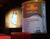 "Cylindrical Video Mapping ""Nutramigen"""