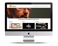 Rediseño de página web en Wordpress