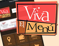 Viva el Menú - App iOS & Android - Phonegap