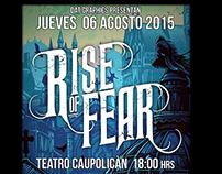 Poste Para Banda RISE OF FEAR