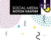 Social Media - Motion Grapher
