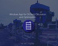 Oil Field Calculation App - WinForms VB .NET